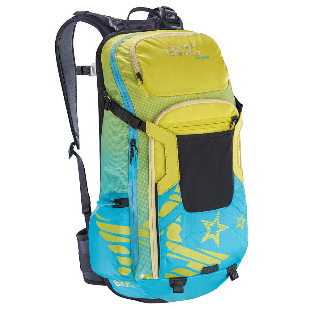 Mochila fr trail women 20l m/l verd/azul