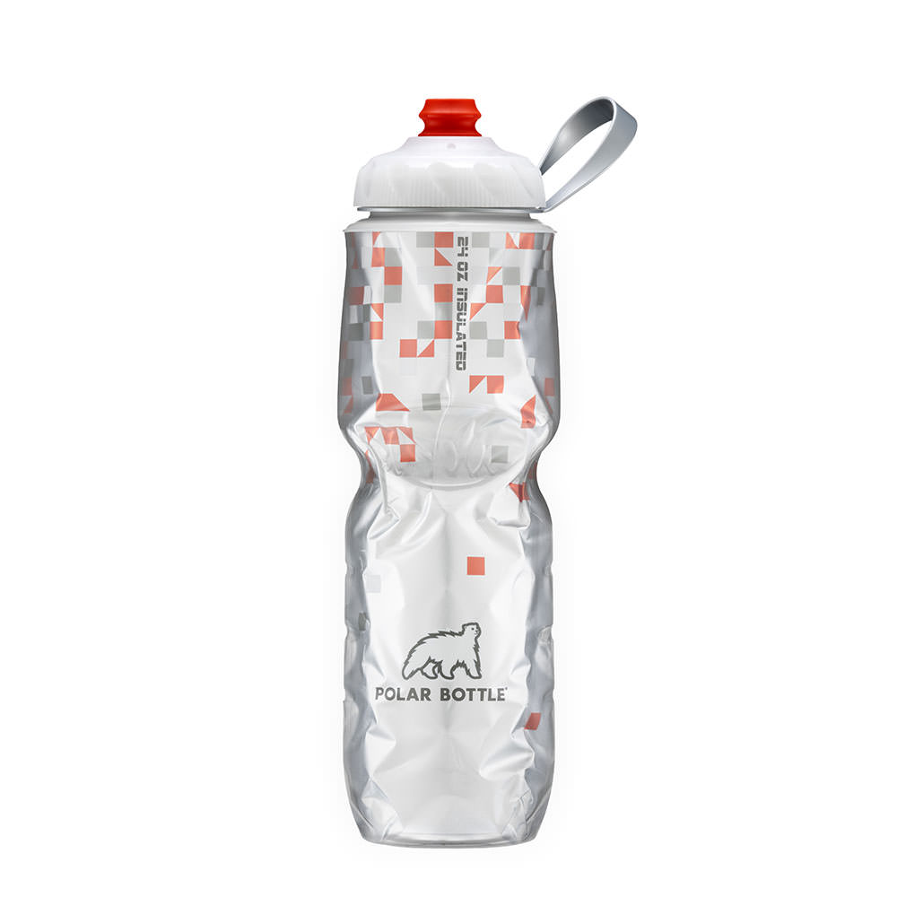 Garrafa Polar Zipstream 710ml - Break Away Laranja