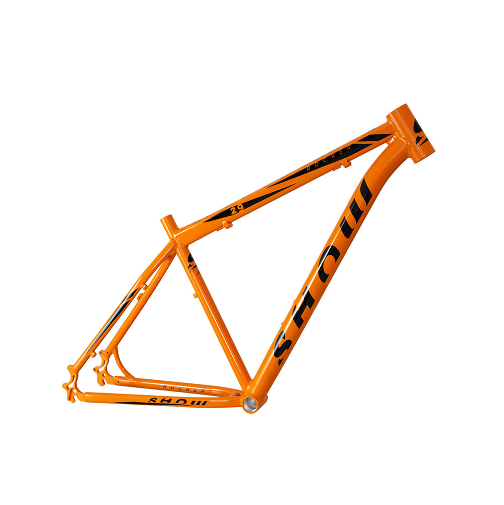 Quadro mtb al 29 show rocker m laranja brilhante
