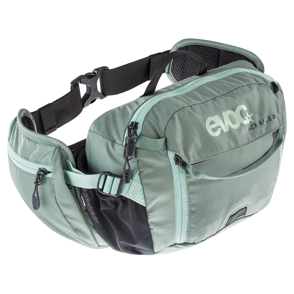 Hip pack race 3l+b.hidrat 1.5l verde