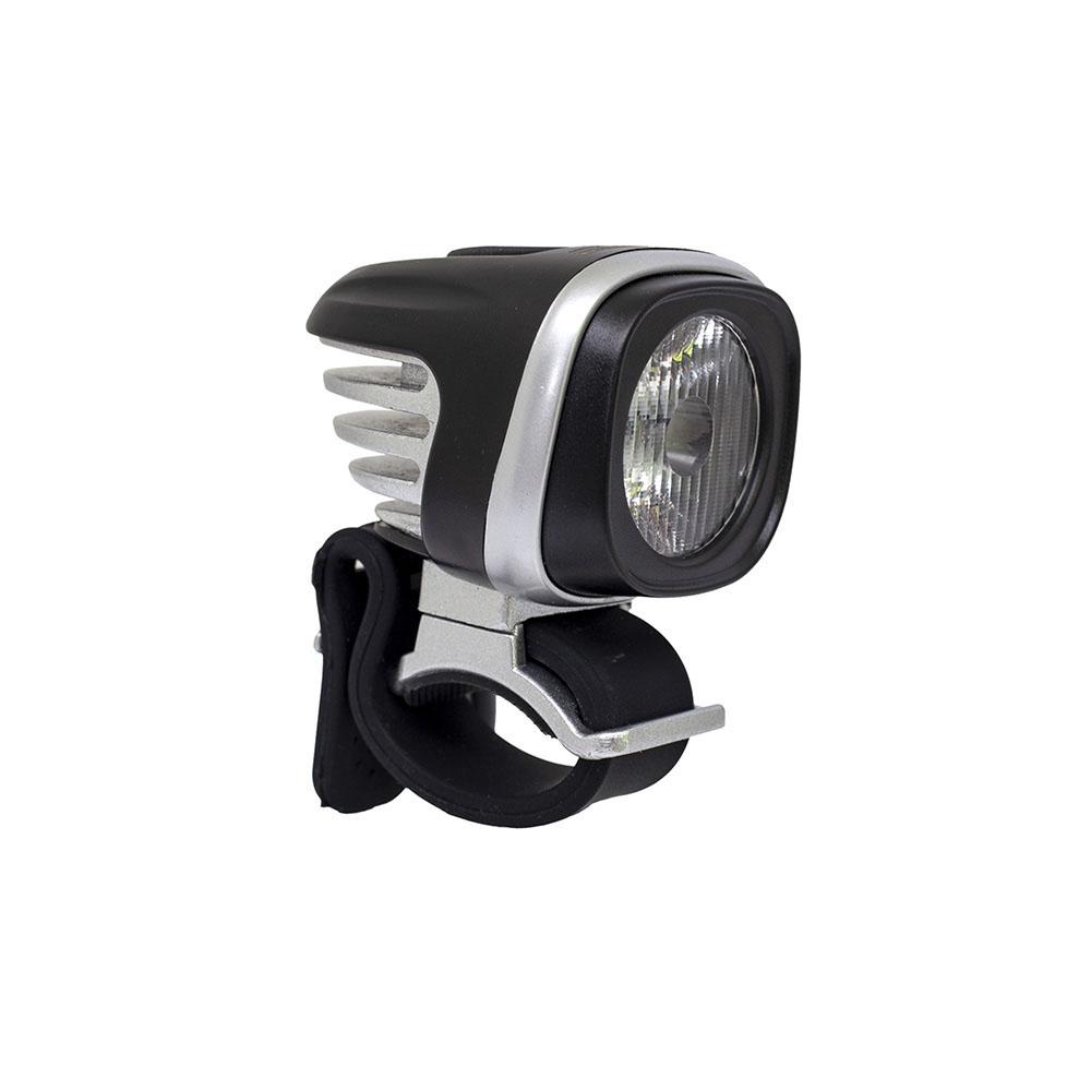 Farol 1x led cree super brilhante branco 1000 lumens com bateria recarregavel 4*2200mah
