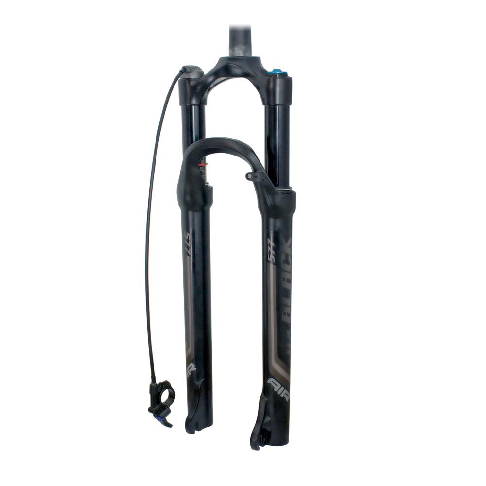 Suspensão 29 ar/óleo de canelas de magnesio com trava remota cor preto com retorno