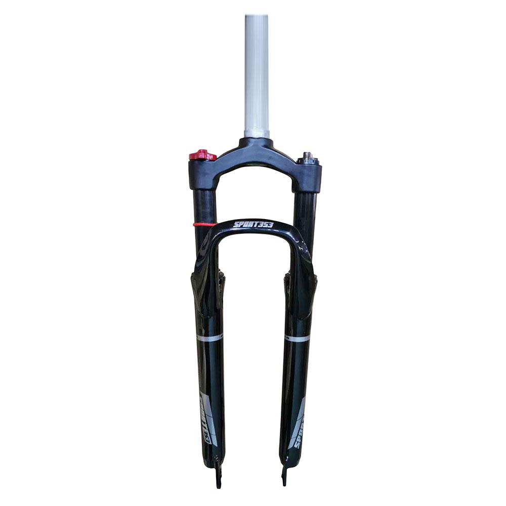 Suspensão 29 aço/alumínio ahead set 28.6mm com regulagem(pre-load) e trava mlo travel 100mm