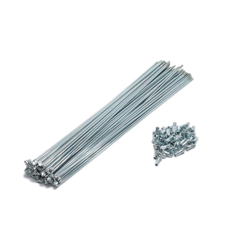 Raio zincado 2.5x263mm com niple - grosa