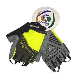 Luva-sportiv-dedo-curto-lycra-modelo-1106-neon-Tam--G