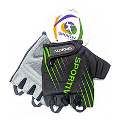 Luva-ciclismo-sportiv-dedo-curto-modelo-1473-tam-p-verde