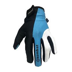 Luva-Kombat-dedo-inteiro-azul-tam-P