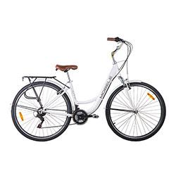 Bicicleta-Mobele-City-700-21v-alloy-branco