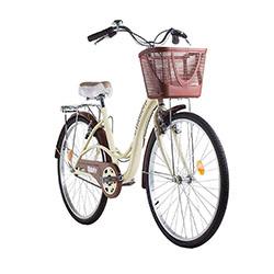 Kit-bicicleta-mobele-mimi-bege-com-marrom-aro-26-com-cestinha