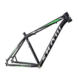 Quadro-mtb-al-29-show-rocker-m-preto-fosco-com-verde