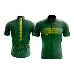 Camisa-de-ciclismo-lemans-modelo-fine-verde-com-z-per-de-18-cm-e-manga-curta