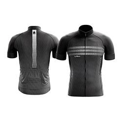 Camisa-de-ciclismo-lemans-modelo-fine-preta-com-ziper-de-18cm-e-manga-curta