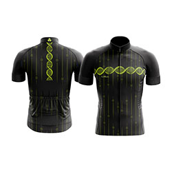 Camisa-de-ciclismo-lemans-modelo-dna-preta-com-z-per-inteiro-e-manga-curta