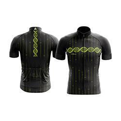 Camisa-de-ciclismo-lemans-modelo-dna-preta-com-z-per-inteiro-e-manga-longa