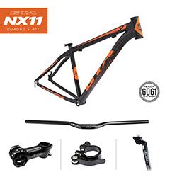 Quadro-mtb-29x19--alum-nio-nx11-preto-laranja-para-disc-brake-com-kit