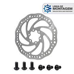 [para-linha-de-montagem]-disco-rotor-160mm-de-diametro-utilizado-em-freio-mec-nico---parafusos-preto-modelo-m6-20mm--em-a-o-